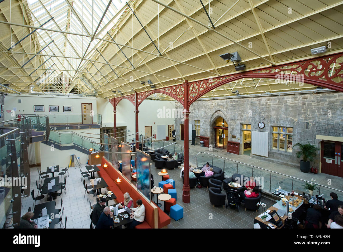 The Station Centre Richmond North Yorkshire England - Stock Image