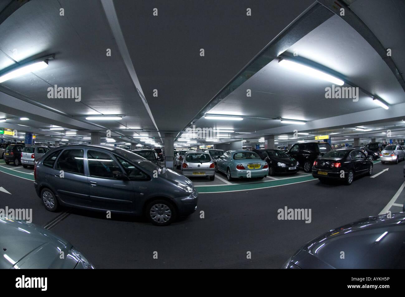 Heathrow Short Stay >> Short Stay Car Park London Heathrow Terminal 5 Stock Photo 17131473