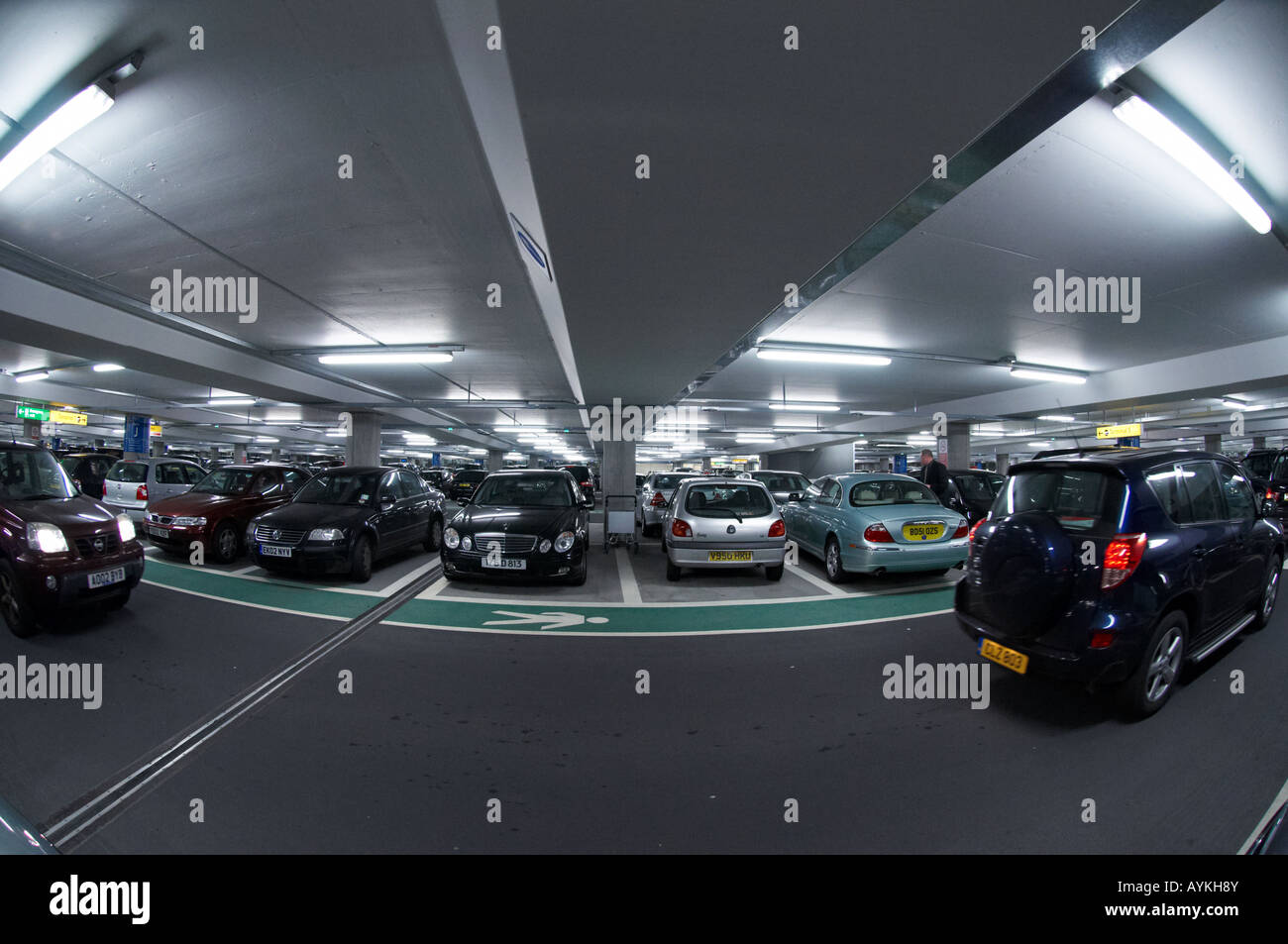 Heathrow Airport Car Park Stock Photos Heathrow Airport Car Park