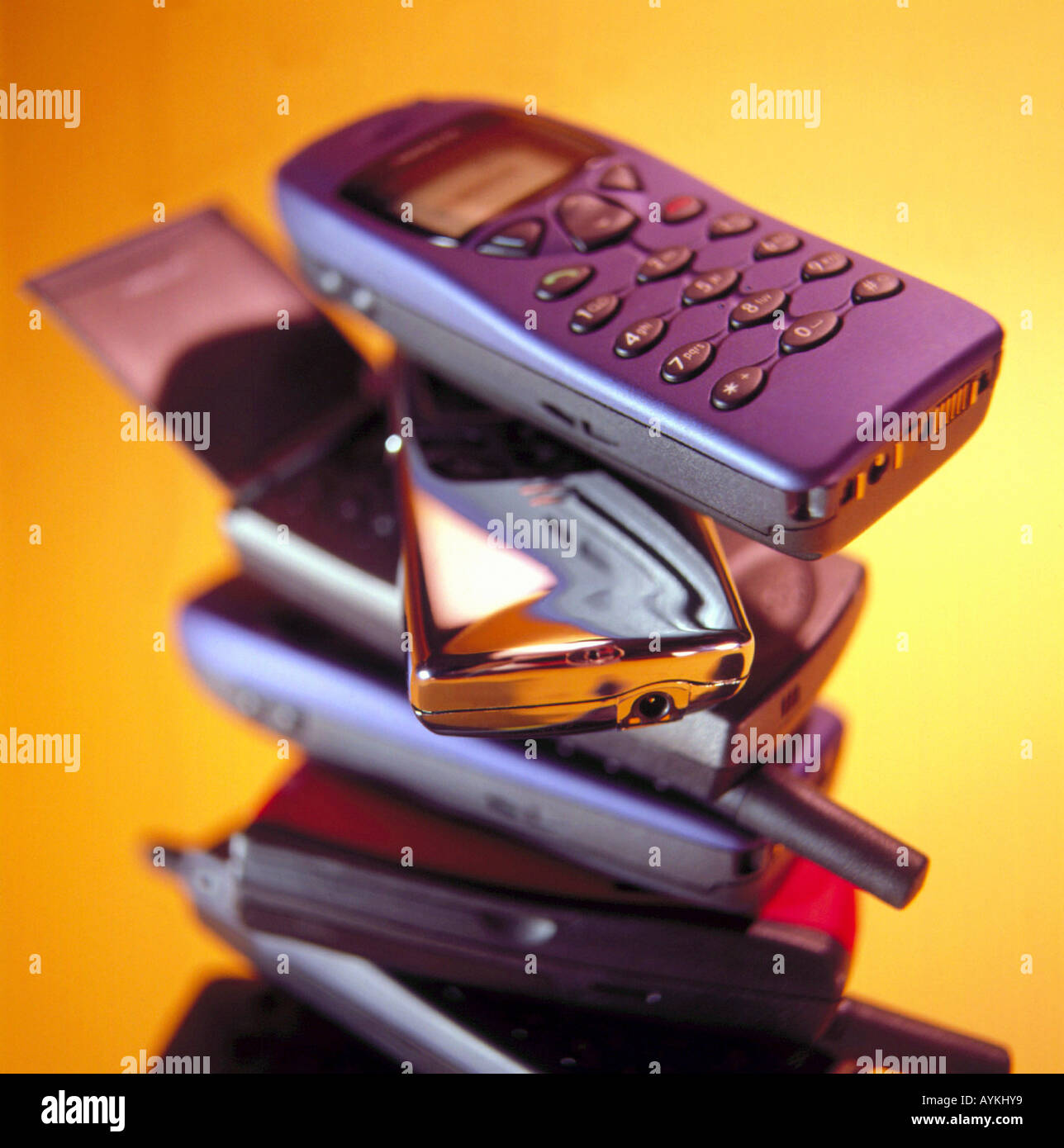 Old motorola mobile phone stock photos old motorola for Orange mobel