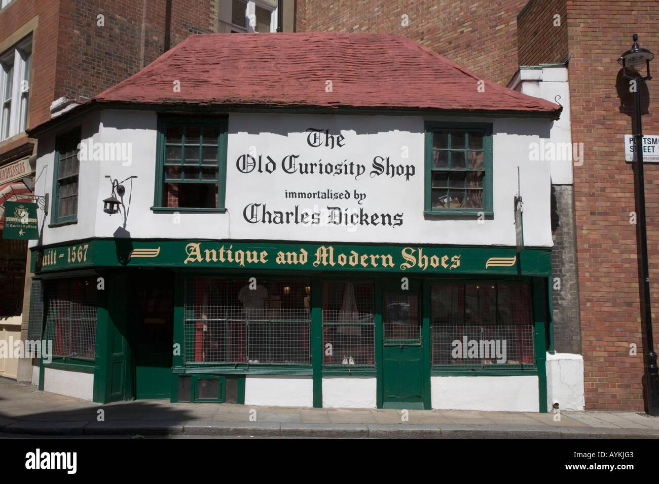 The Old Curiosity Shop Porstmouth Street London England Stock Photo