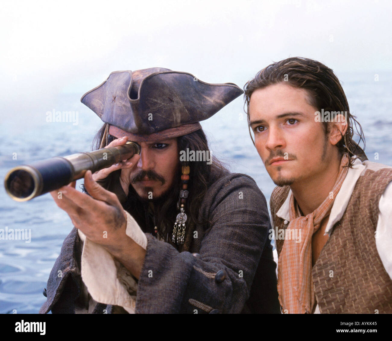 PIRATES OF THE CARIBBEAN: CURSE OF THE BLACK PEARL - Stock Image