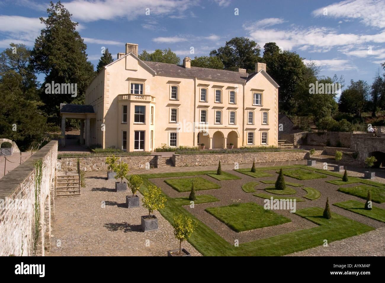 Aberglasney Xvth Century House And Gardens Near Llandeilo West