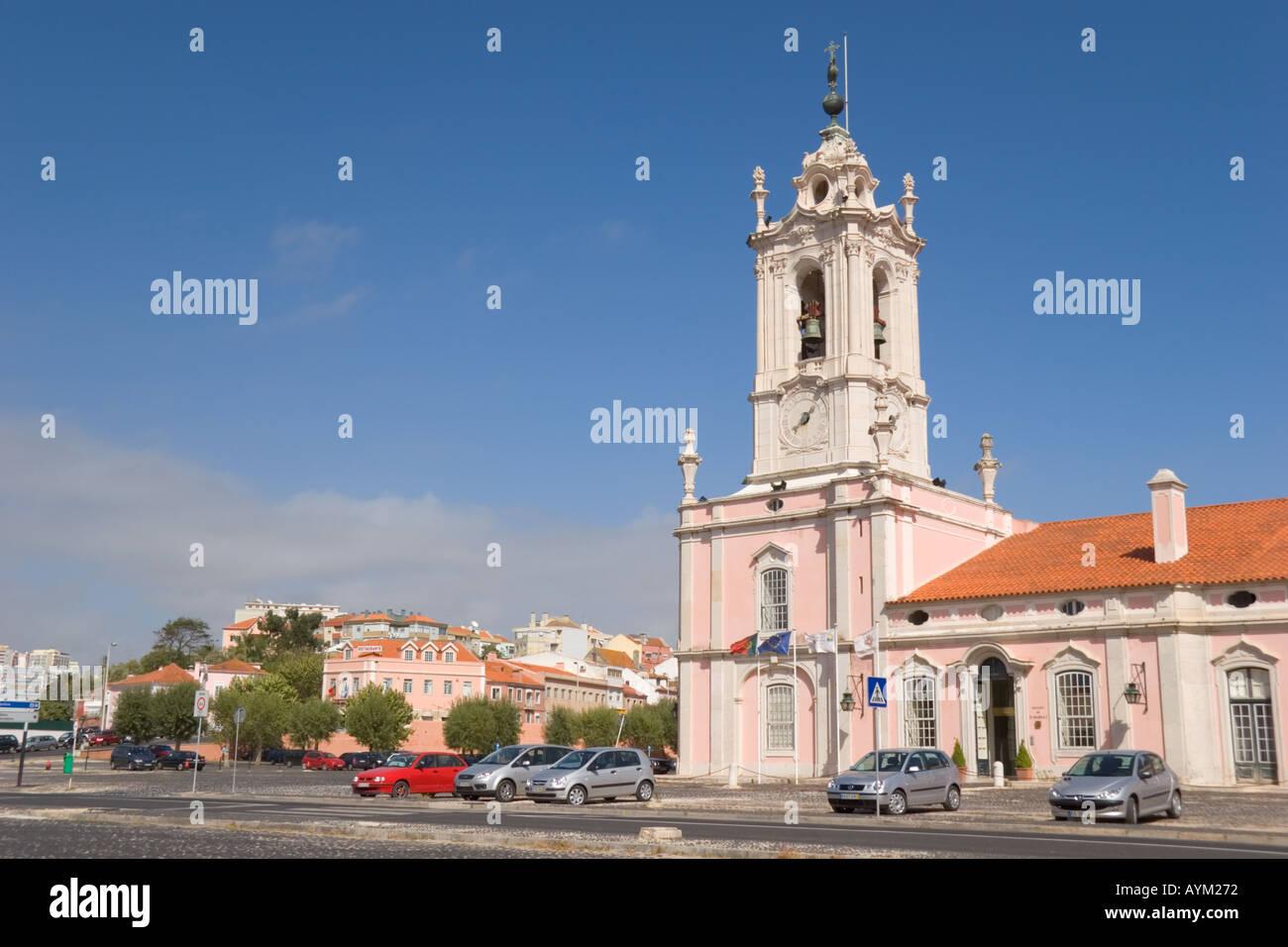 Queluz Portugal Pousada Dona Maria I Stock Photo