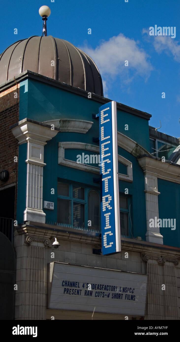 Electric Cinema Portobello Road London England UK - Stock Image