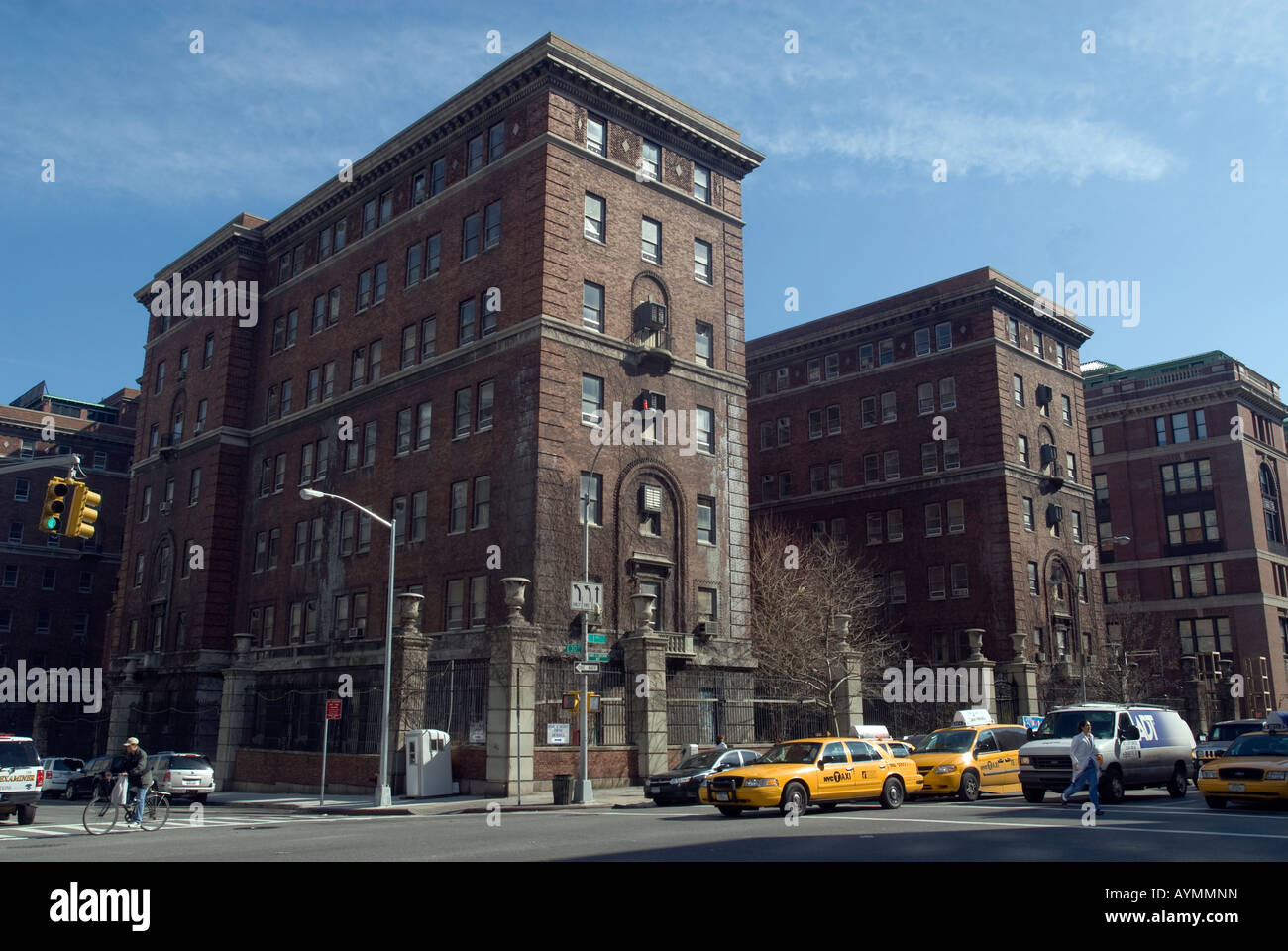The former psychiatric ward of Bellevue Hospital on First Avenue in New York - Stock Image