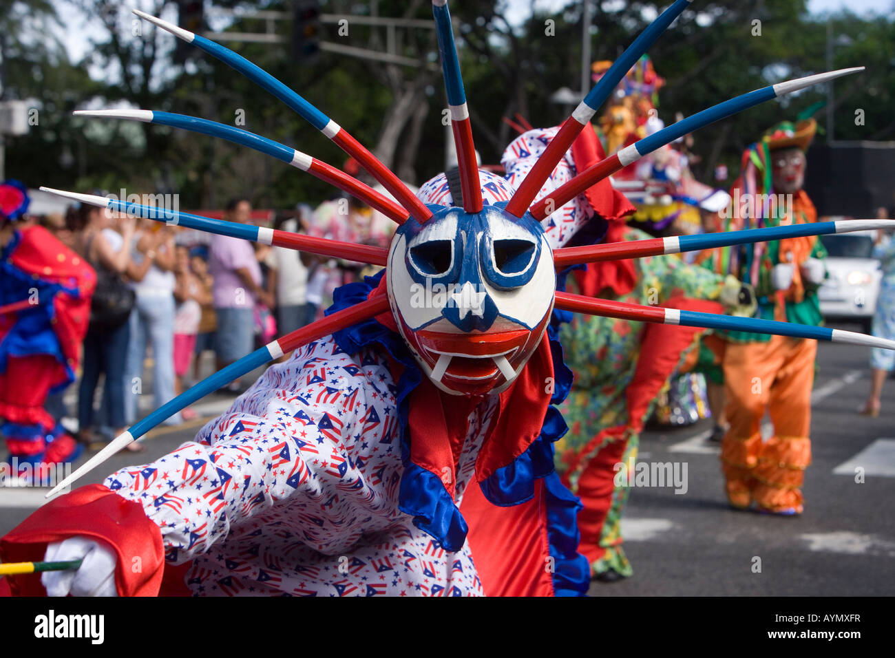 christmas parade san juan puerto rico stock image - Puerto Rican Christmas Traditions