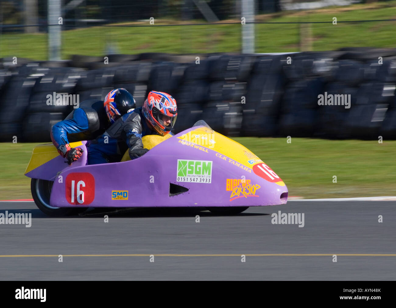 Motor cycle racing oulton park stock photos motor cycle for National motor club compensation plan