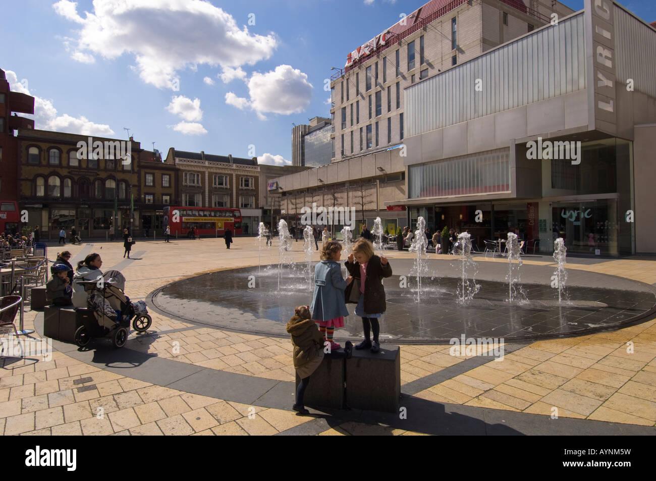 Lyric Theatre Hammersmith W6 London United Kingdom - Stock Image