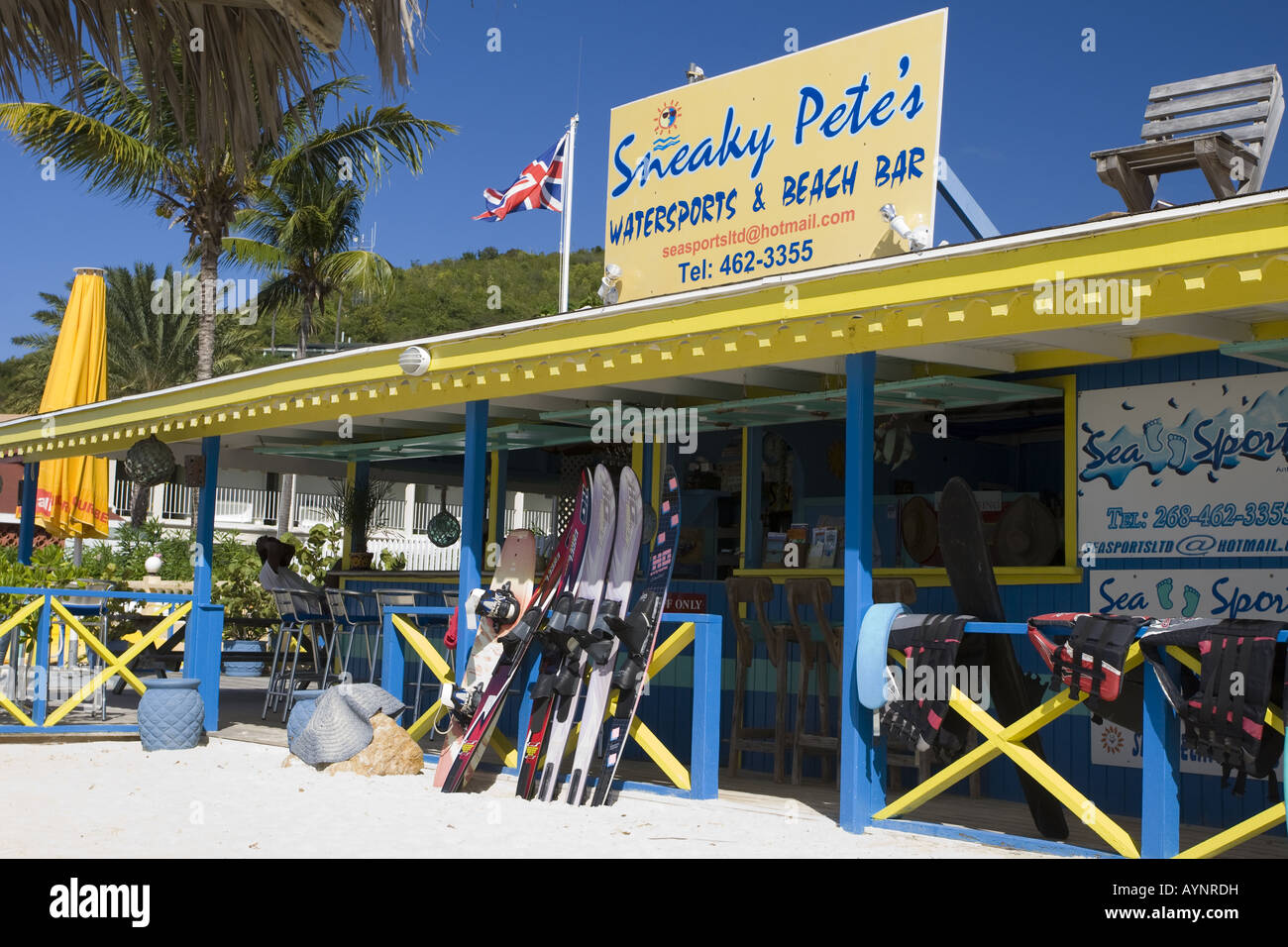 Sneaky Pete's Watersports Centre, Dickinson Bay, Antigua