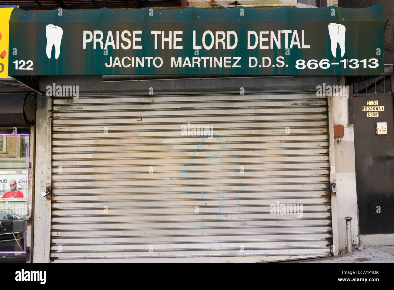 Praise The Lord Dental New York City - Stock Image