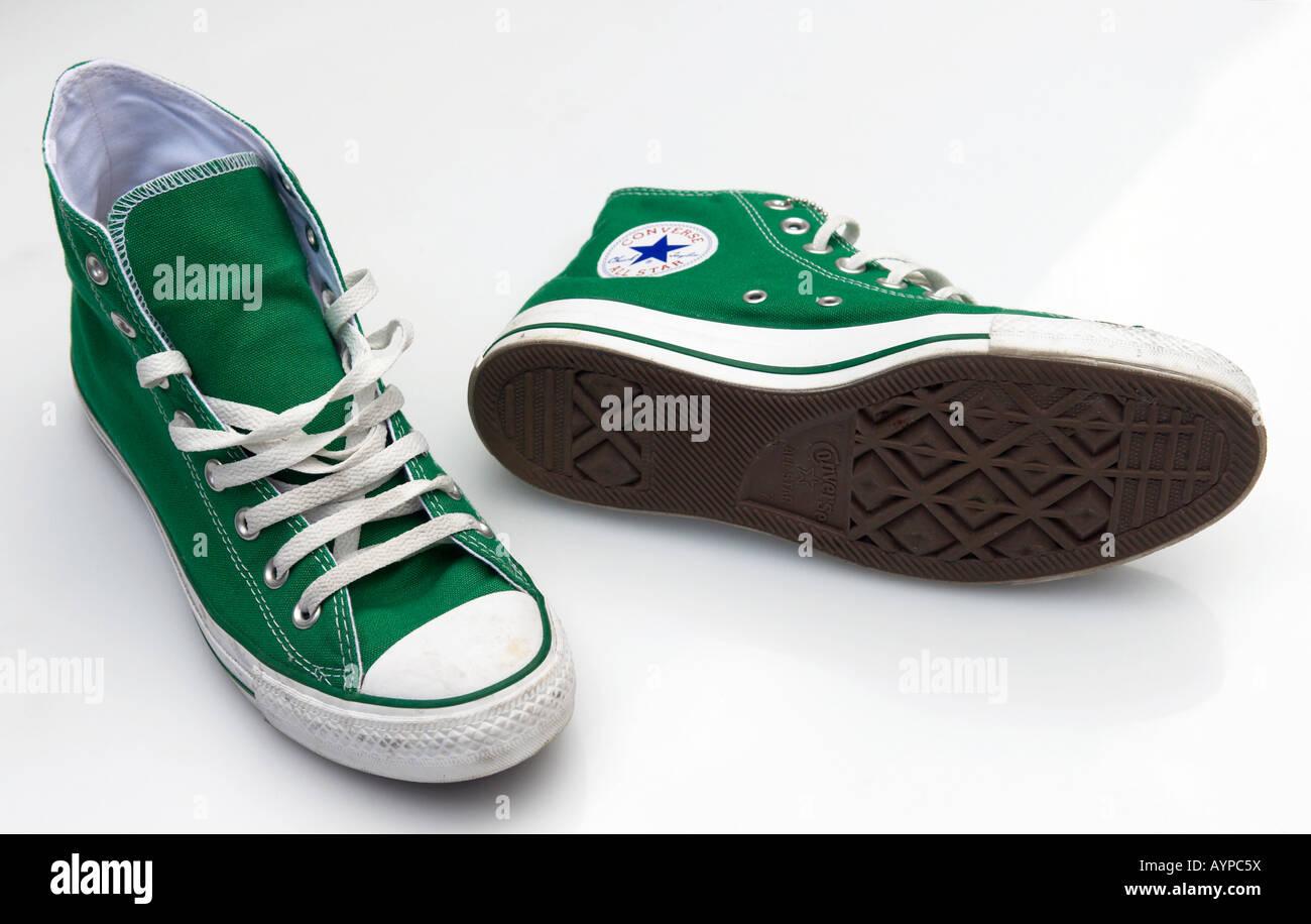 97d066d4b0df Pair of Converse Baseball Boots Stock Photo  17158021 - Alamy