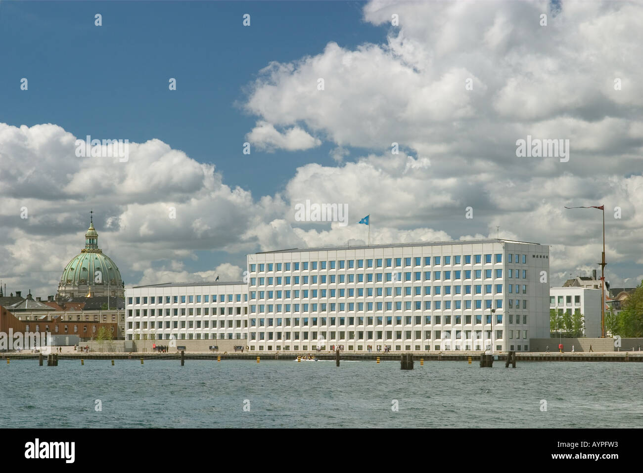 The A P Møller Mærsk A S Maersk head quarter building on Esplanaden Copenhagen Denmark Stock Photo