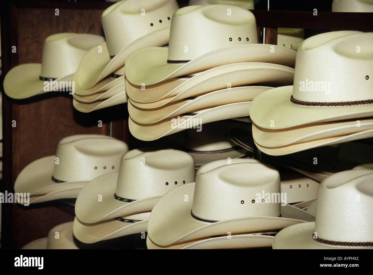 Cream coloured stetson cowboy hats in Sheplers Western Wear Store Festival  Bay Mall Orlando 595c6f2b3ab