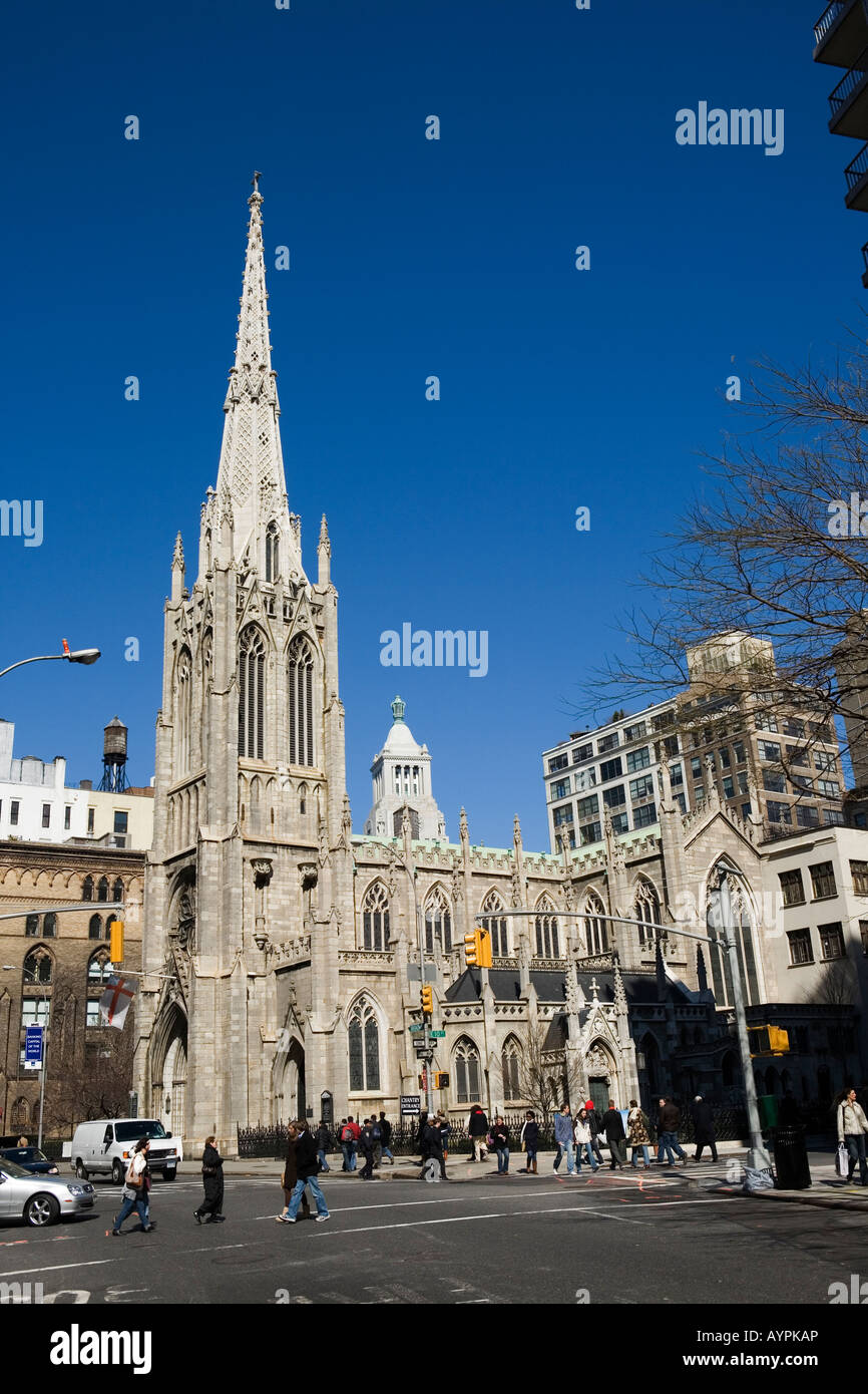 grace episcopal church broadway east village new york city gothic