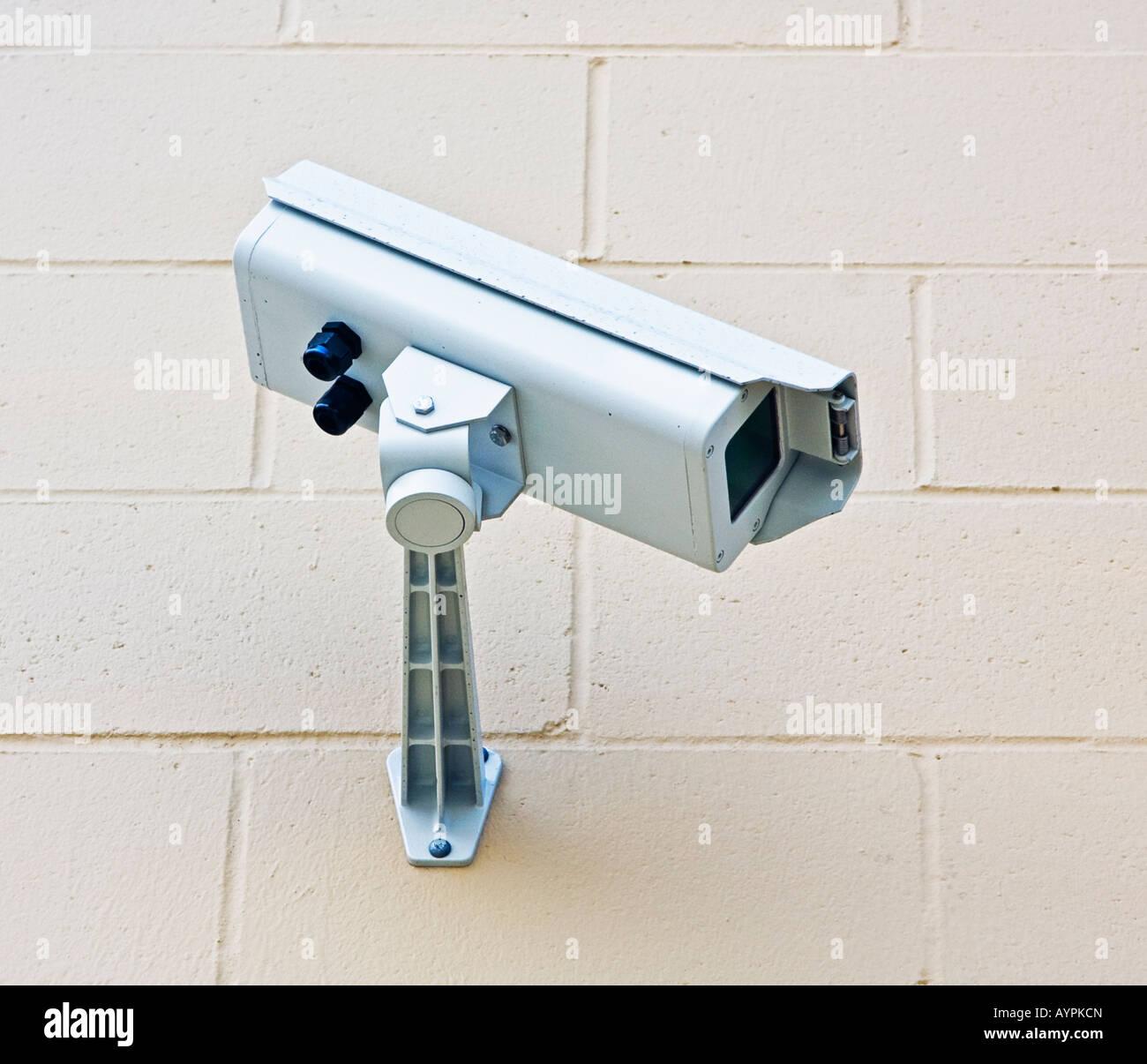 video surveillance camera - Stock Image