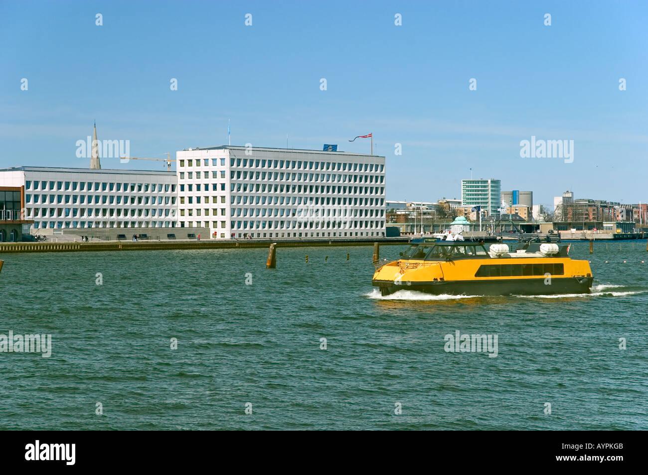 The A P Møller Mærsk A S Maersk head quarter. Copenhagen, Denmark. Stock Photo
