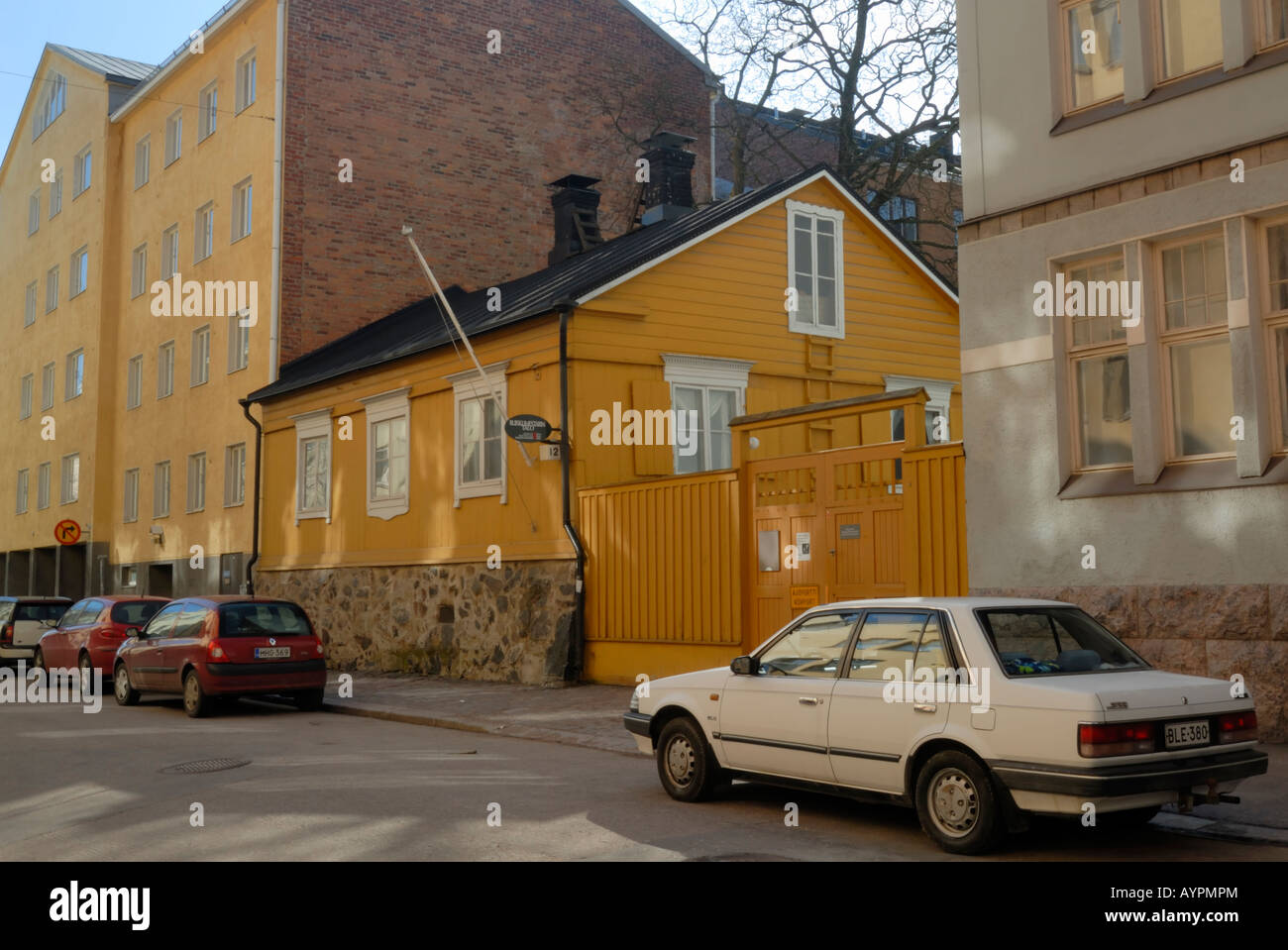 The oldest surviving wooden house in the Helsinki, 1818