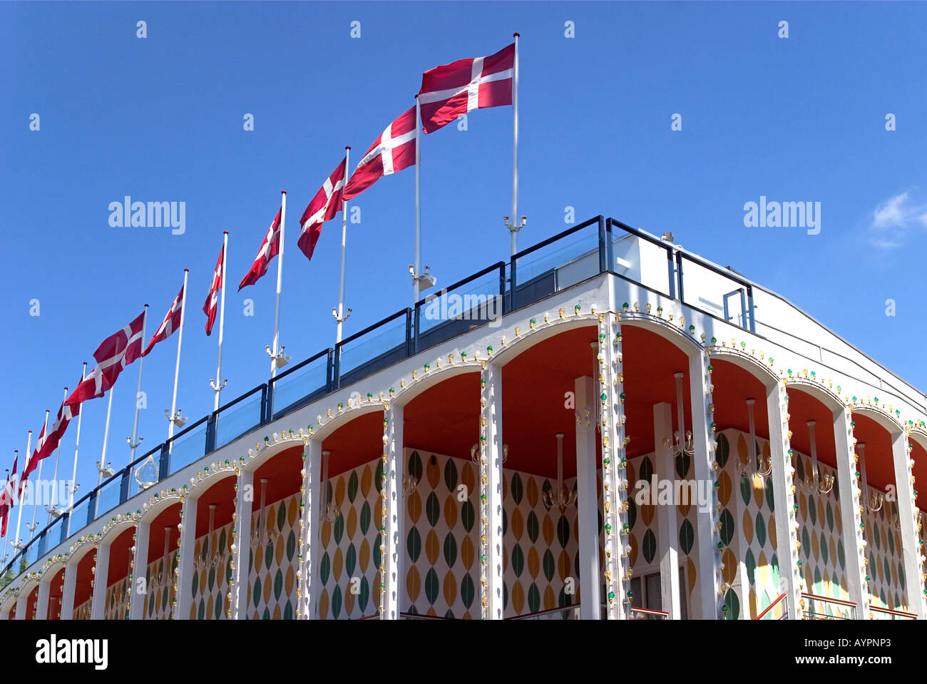 The Concert Hall Tivoli Copenhagen Denmark - Stock Image