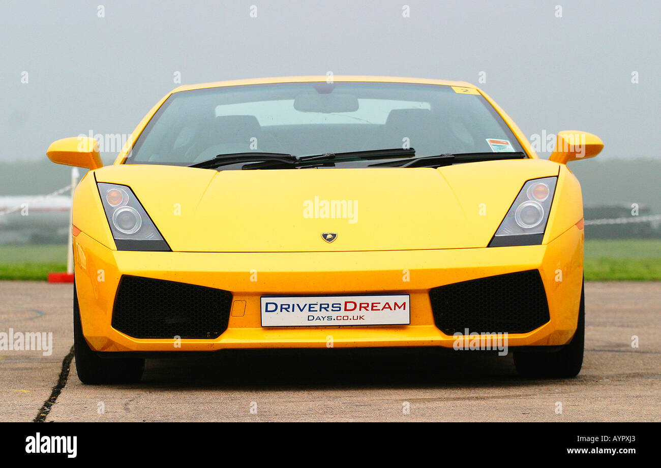 Lamborghini Gallardo Front View Stock Photo 9807266 Alamy