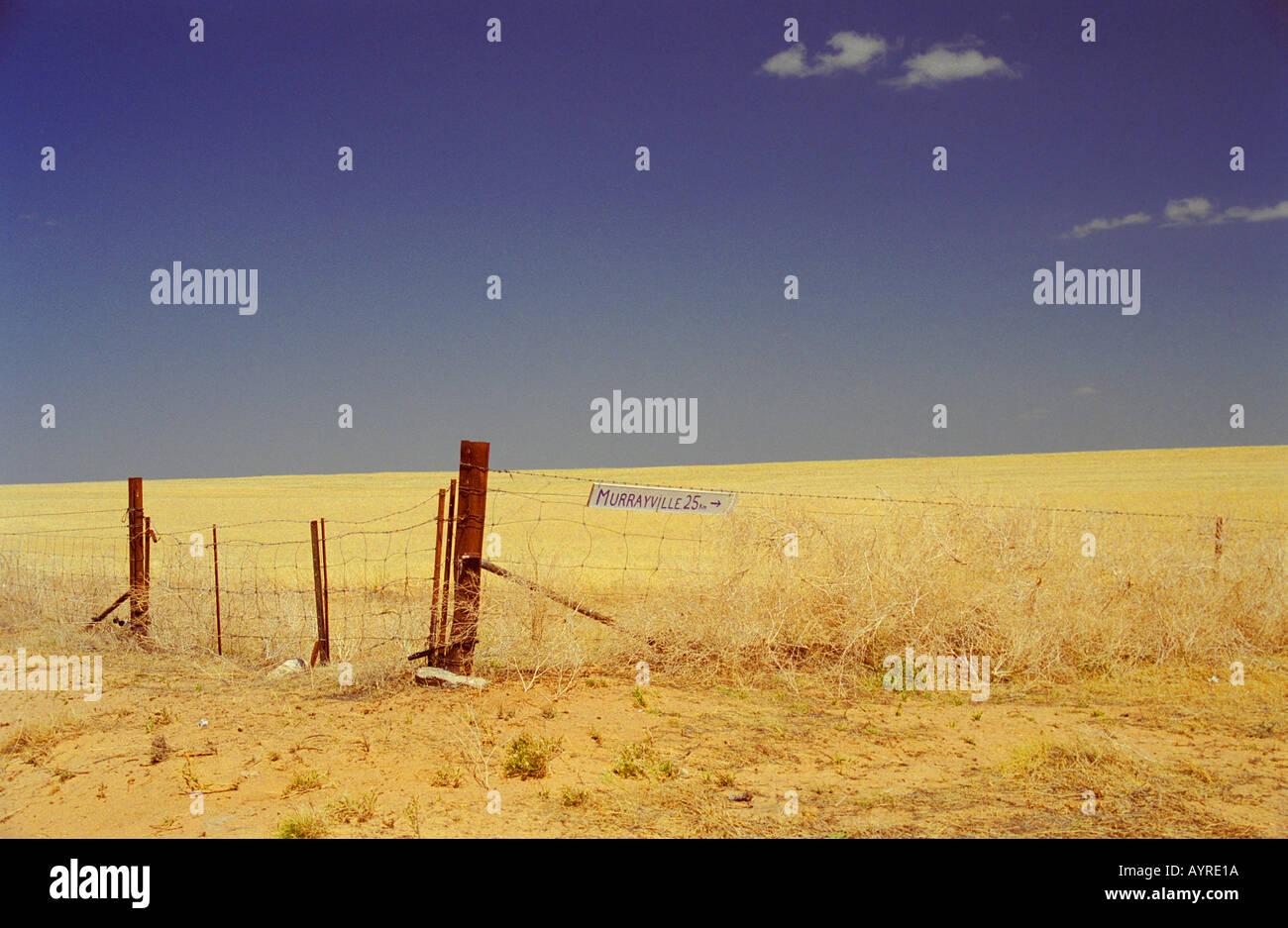 Outback Australia - Stock Image