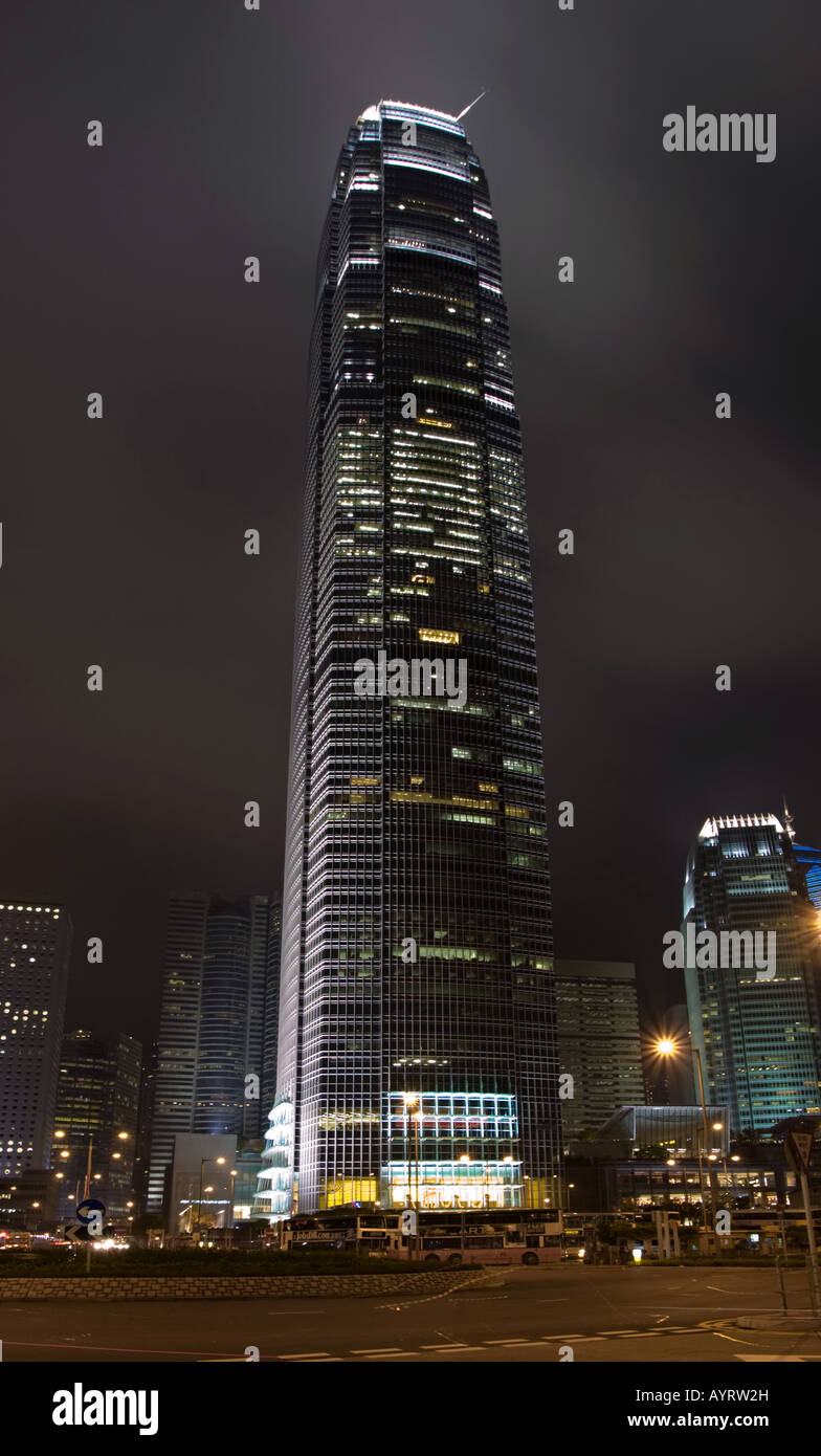 Two International Finance Centre Hong Kong - Stock Image