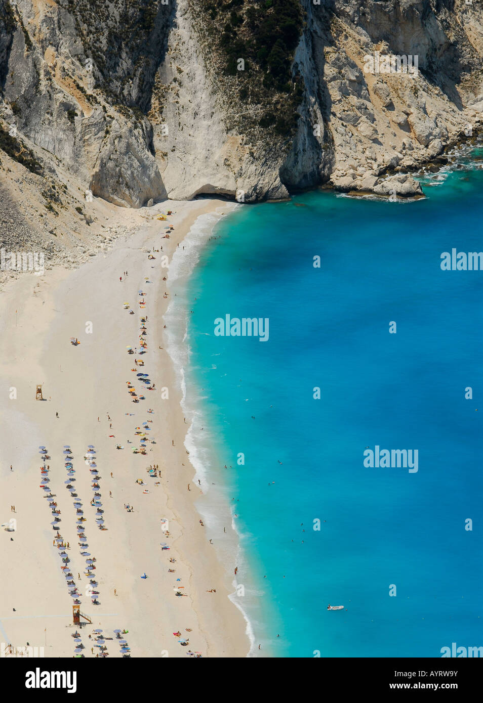 Mirtos Beach, Kefalonia, Ionian Islands, Greece Stock Photo