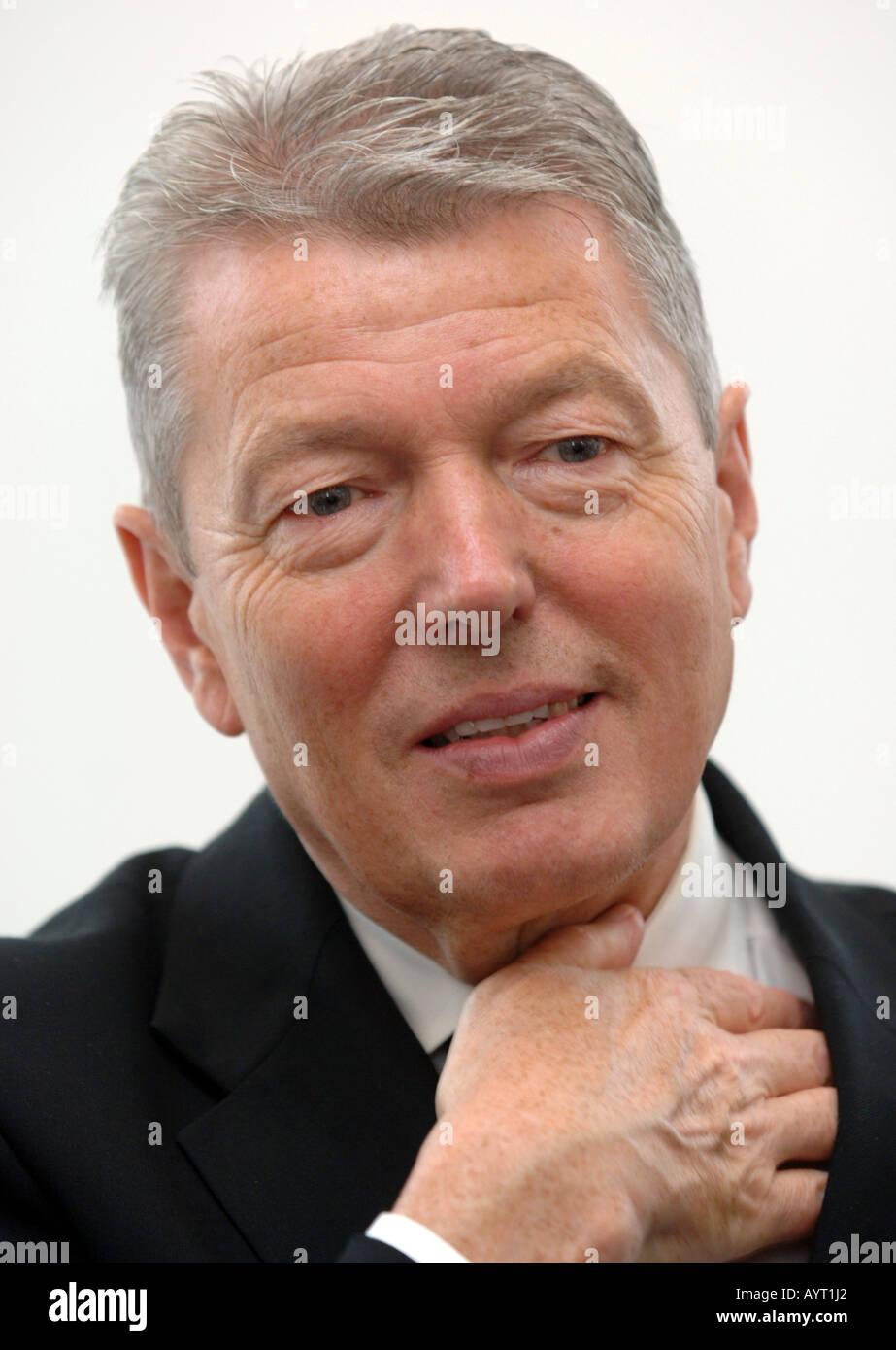 Alan Johnson MP Labour - Stock Image