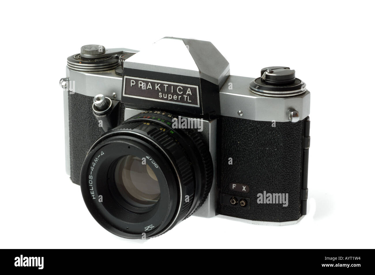 Praktica super tl manual film camera stock photo: 9813331 alamy