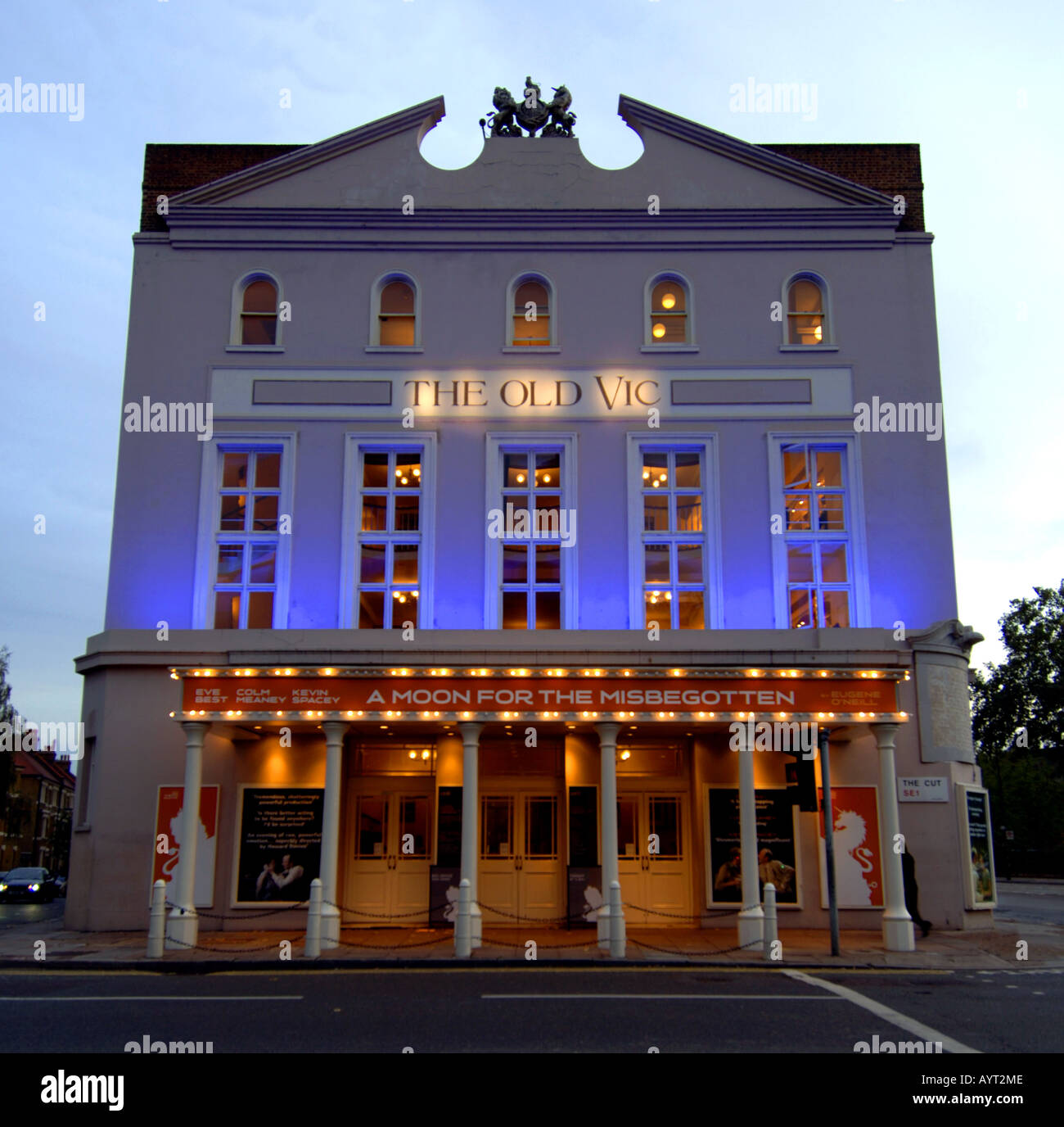 The Old Vic theatre, Waterloo, London, UK - Stock Image