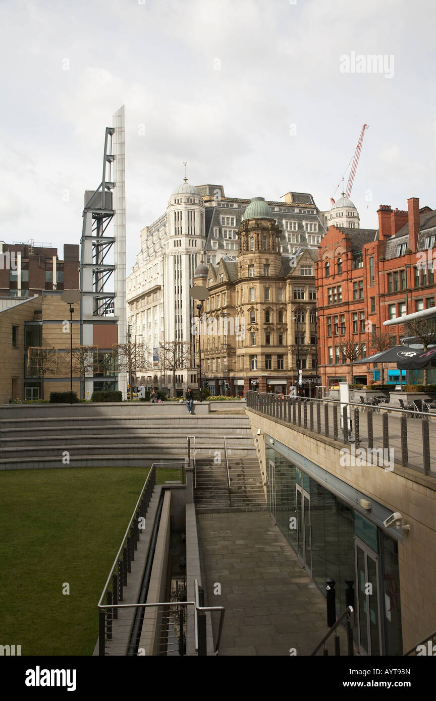 Great Northern Square in Manchester UK Stock Photo