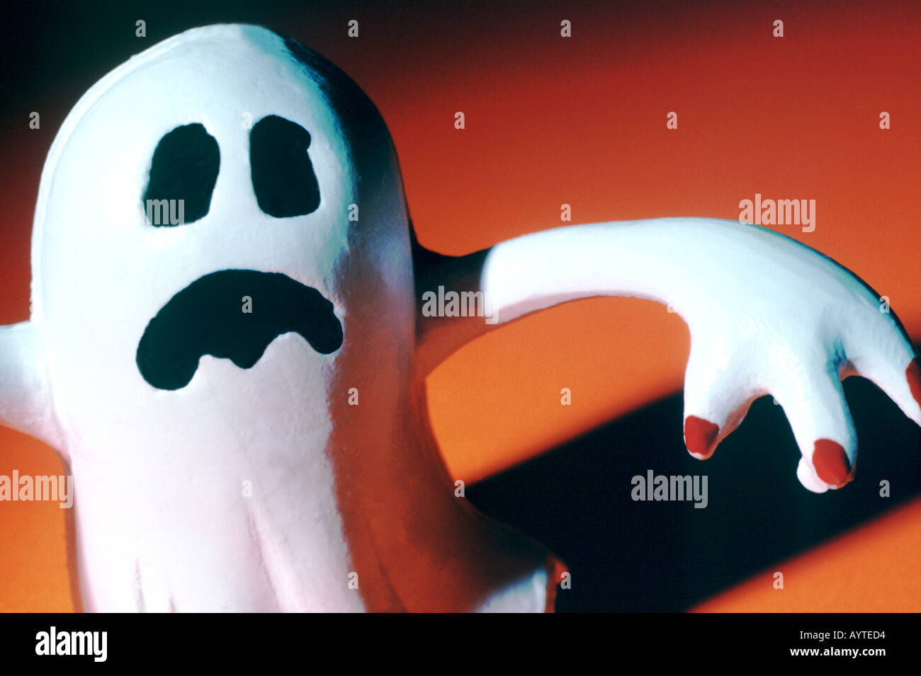 Spooky ghost - Stock Image