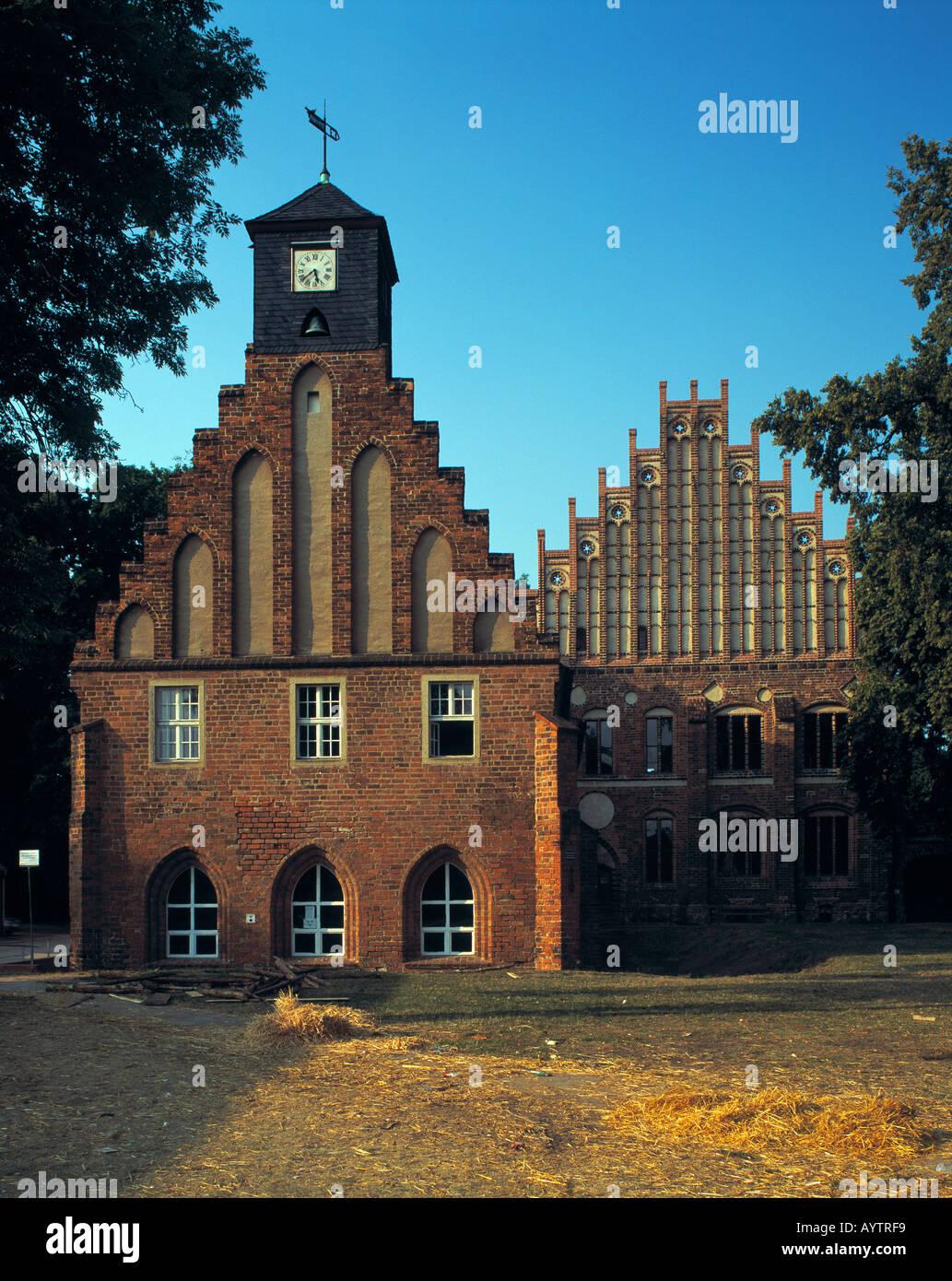 Zisterzienserkloster Zinna in Kloster Zinna, Niederer Flaeming, Brandenburg Stock Photo