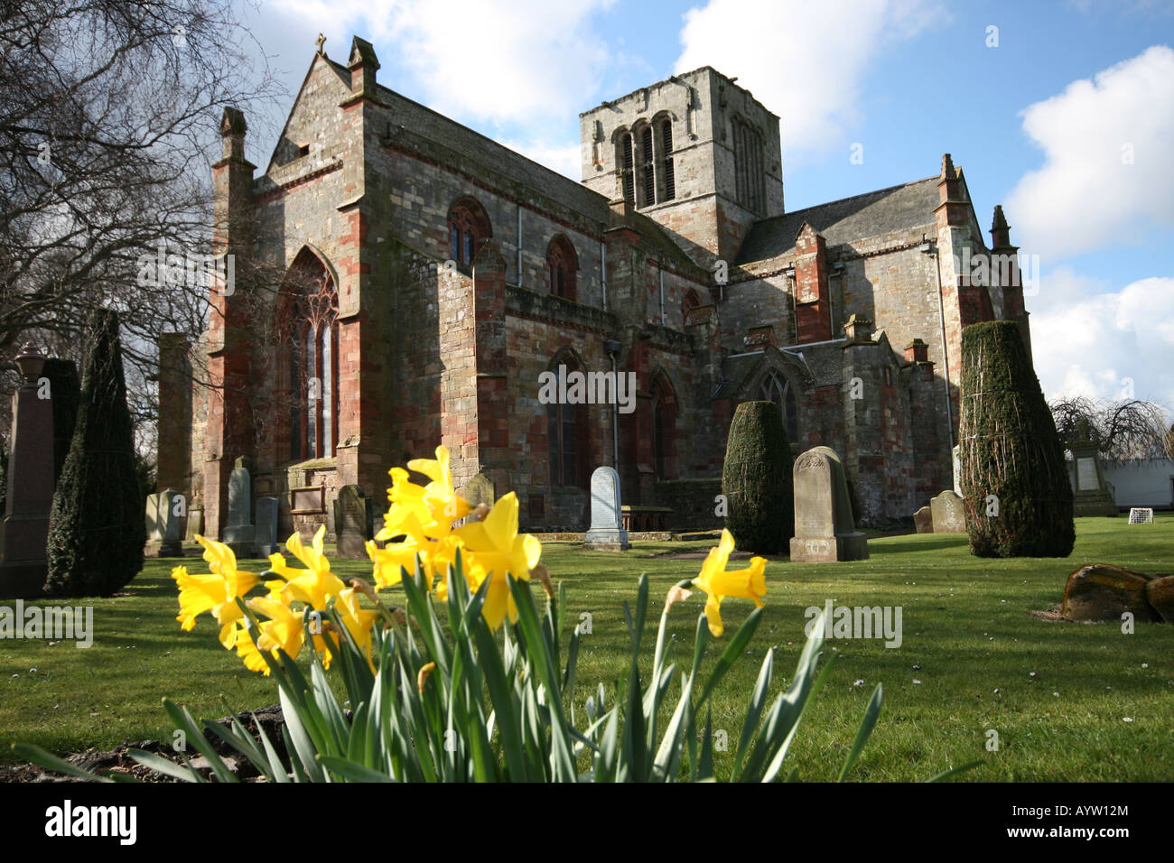 St Mary's Church Haddington East Lothian - Stock Image