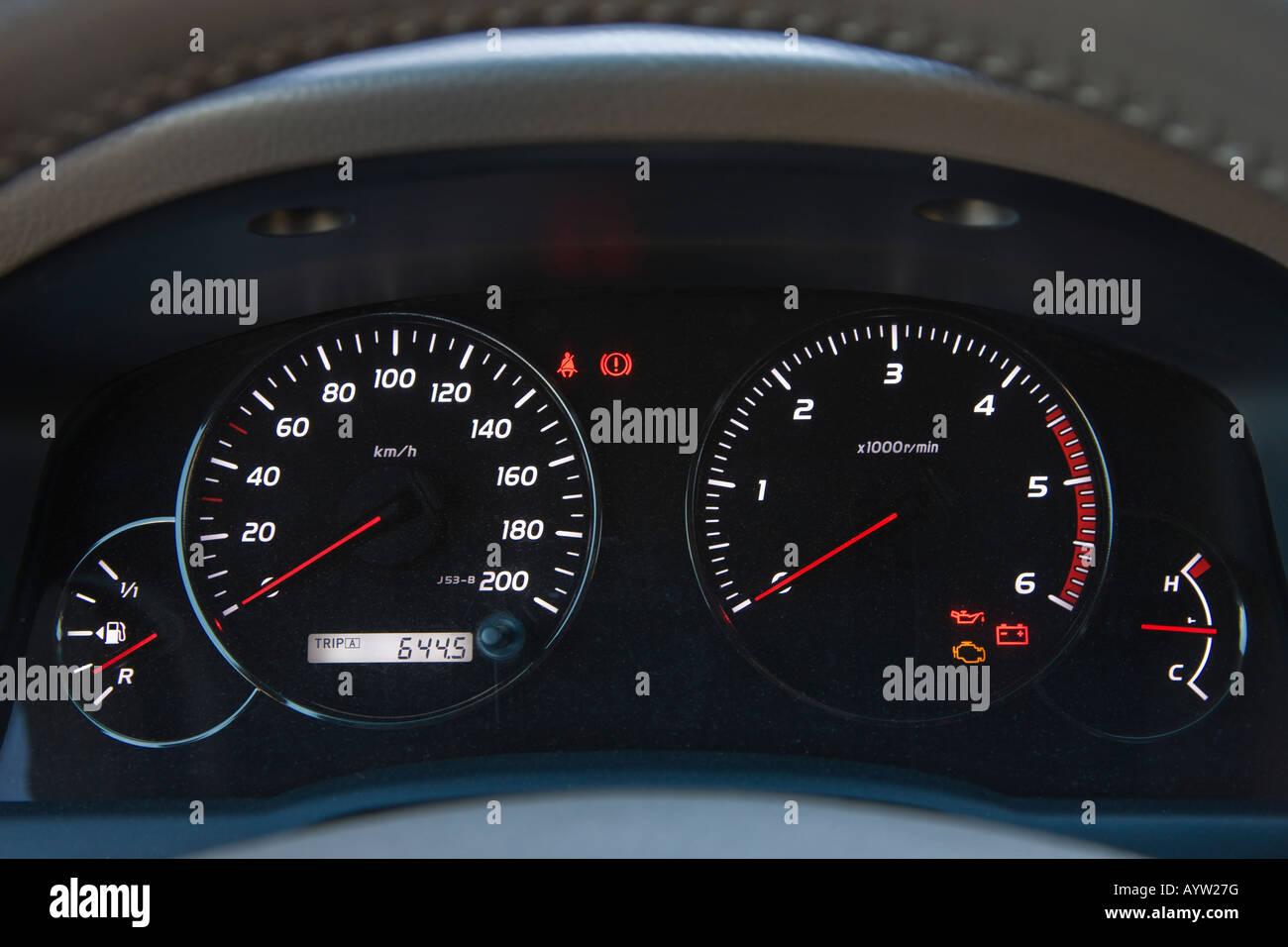 Instrument panel of modern automobile Stock Photo: 17182899 - Alamy