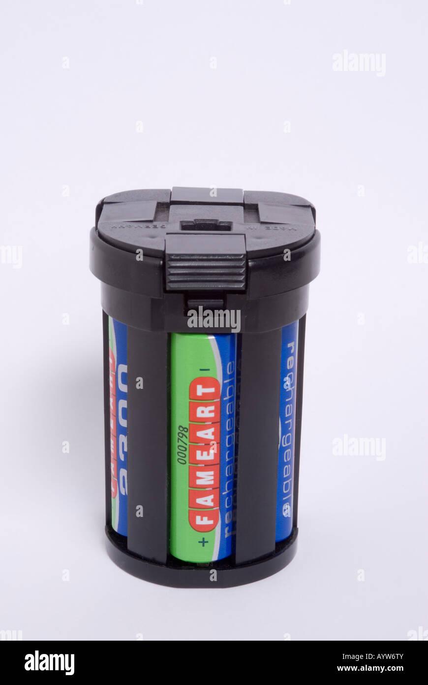 Battery Pack For Metz Flashgun - Stock Image