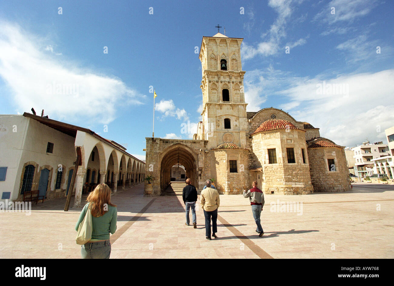 The Church of St Lazarus in Larnaca Cyprus Stock Photo