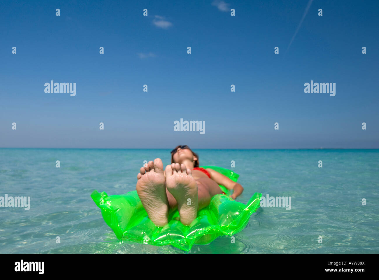 vacations in Cuba - Stock Image