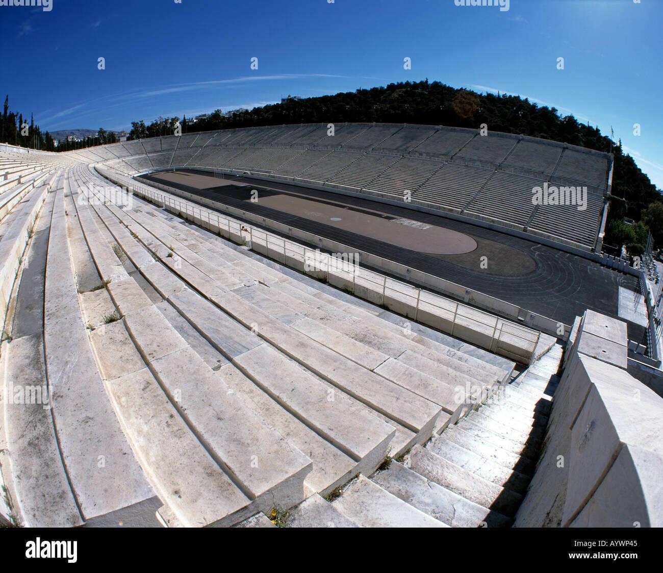 Greece, GR-Athens, Attica, stadium - Stock Image