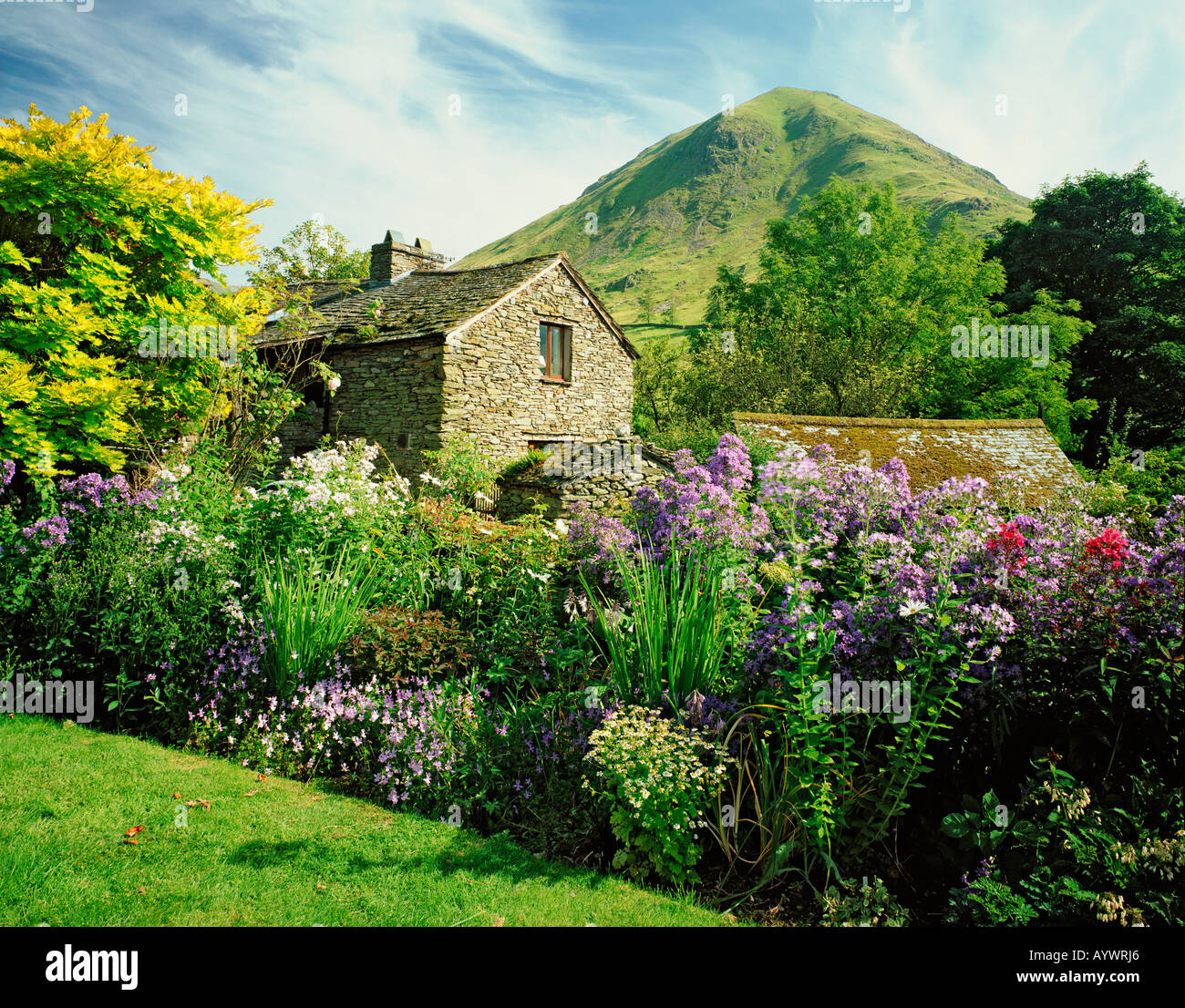 GB  CUMBRIA LAKE DISTRICT NATIONAL PARK HARTSOP AND HARTSOP DODD Stock Photo