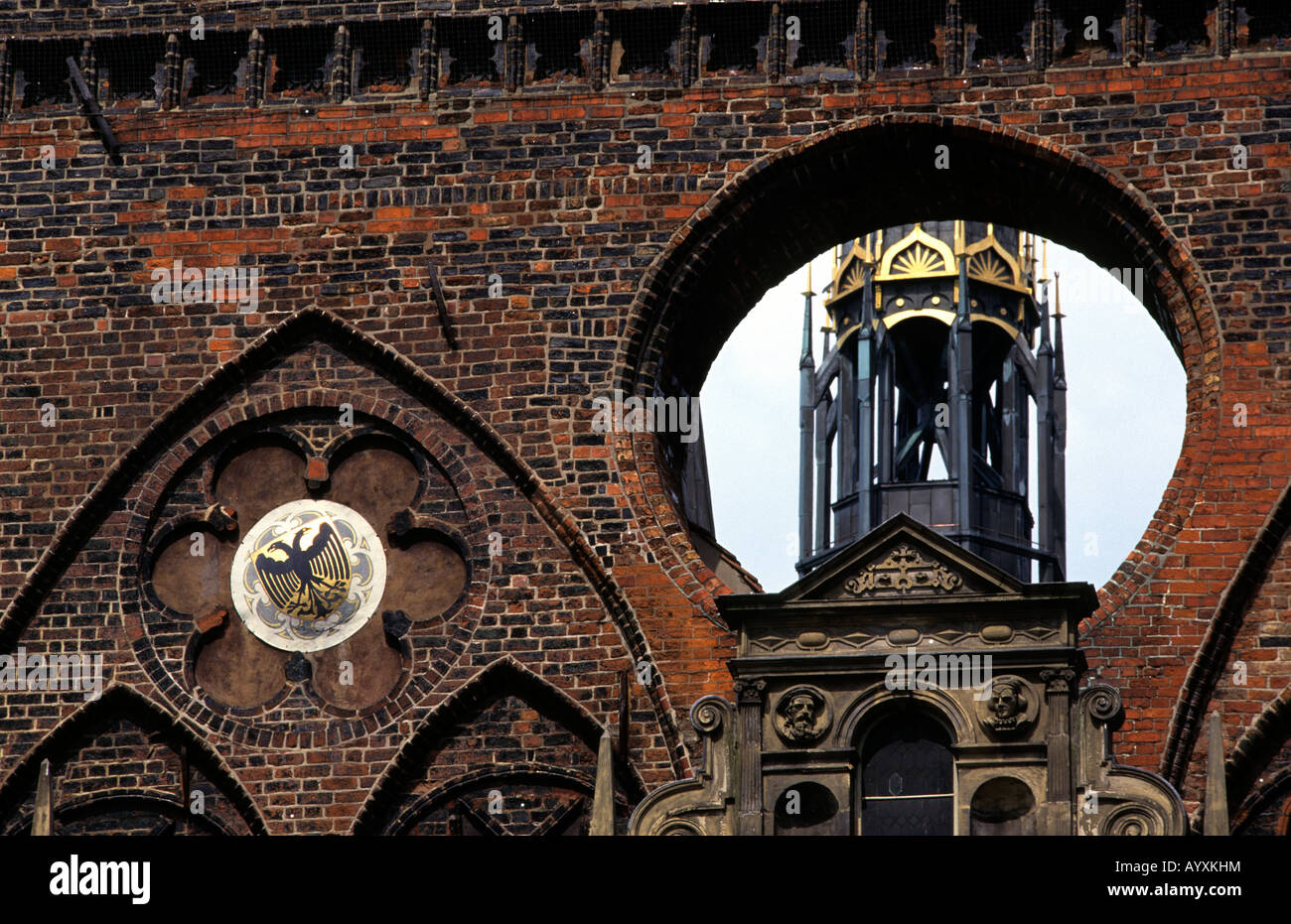 GERMANY THE MARIENKIRCHE IN LUBECK  2008 - Stock Image