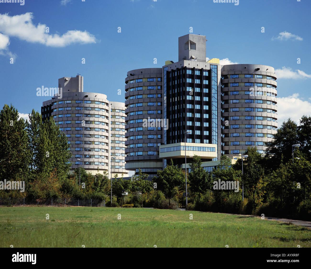 Universitaetsklinikum in Muenster, Muensterland, Nordrhein-Westfalen Stock Photo