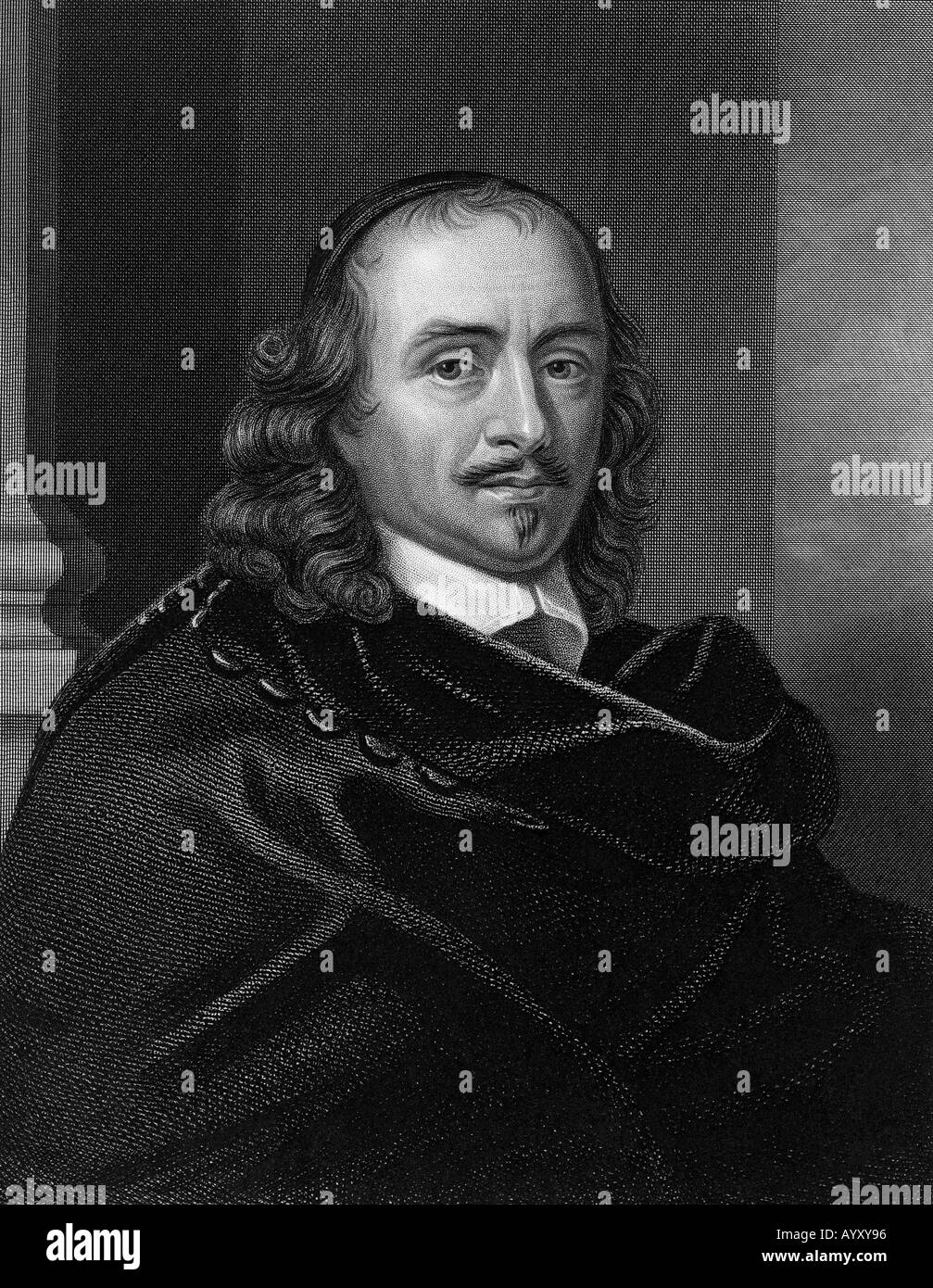 PIERRE CORNEILLE  French dramatist 1606 to 1684 - Stock Image