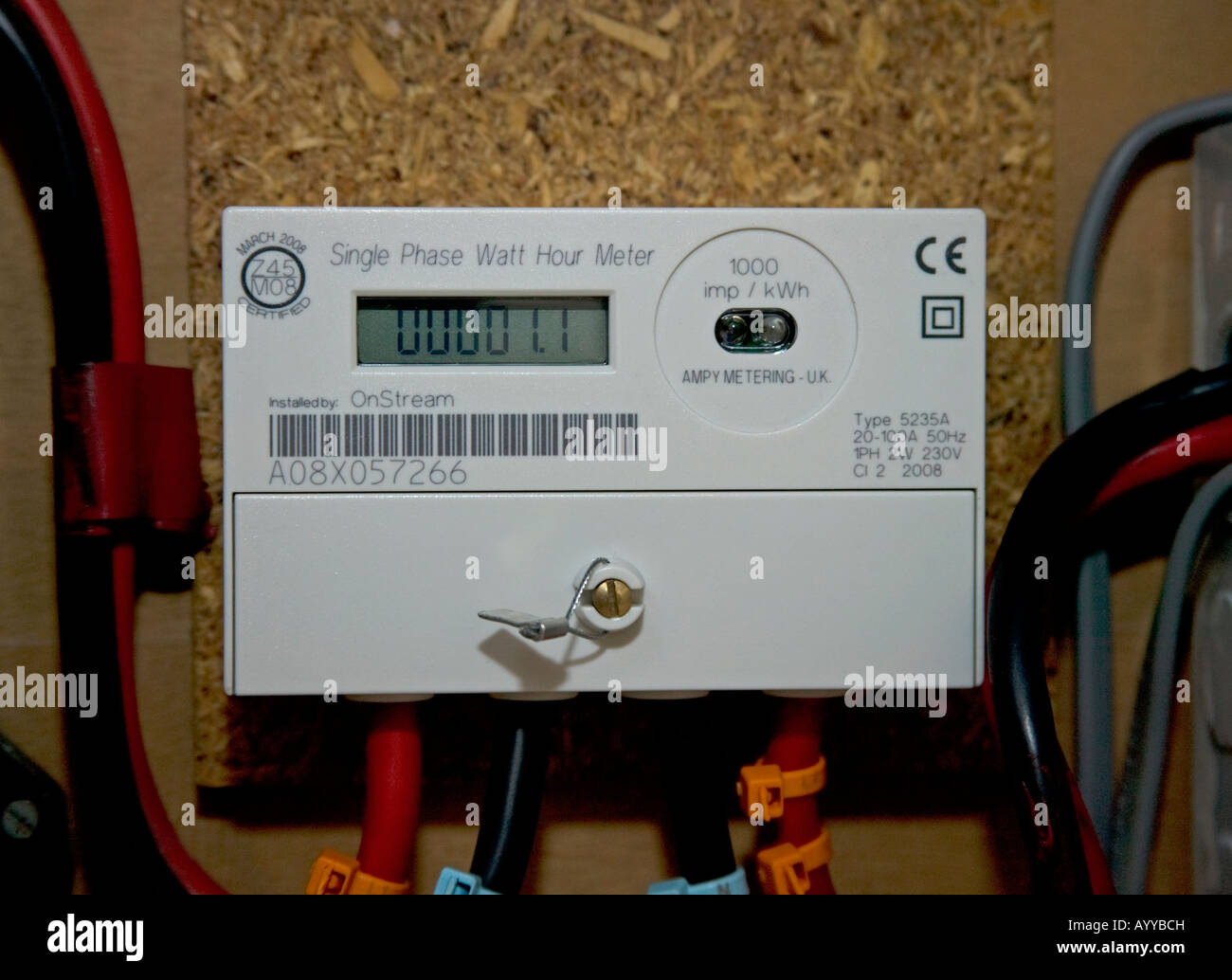 Electric Meter Uk Stock Photos Amp Electric Meter Uk Stock