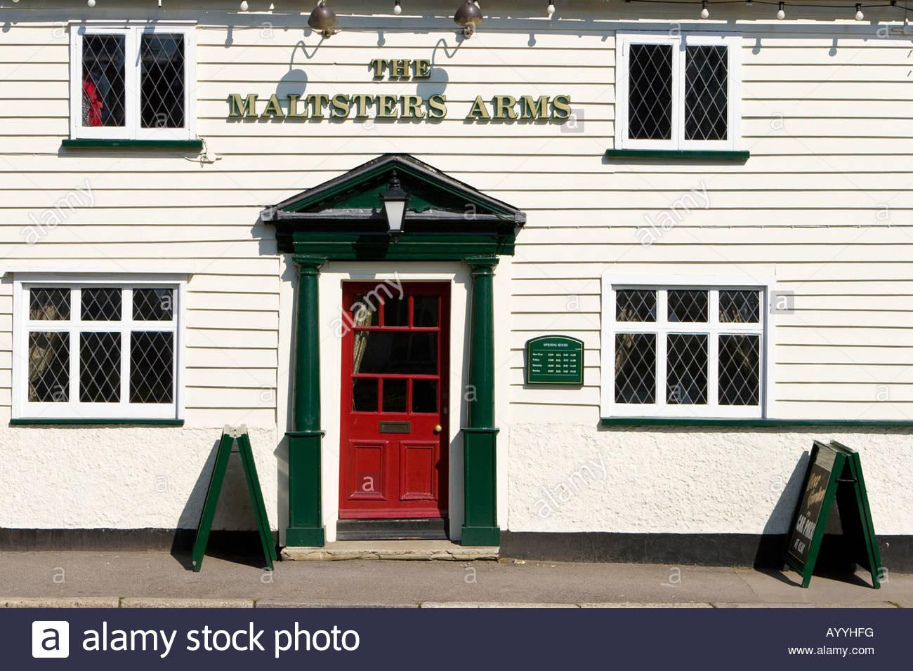 The ^Maltsters Arms public house, Abridge, Essex, UK. - Stock Image