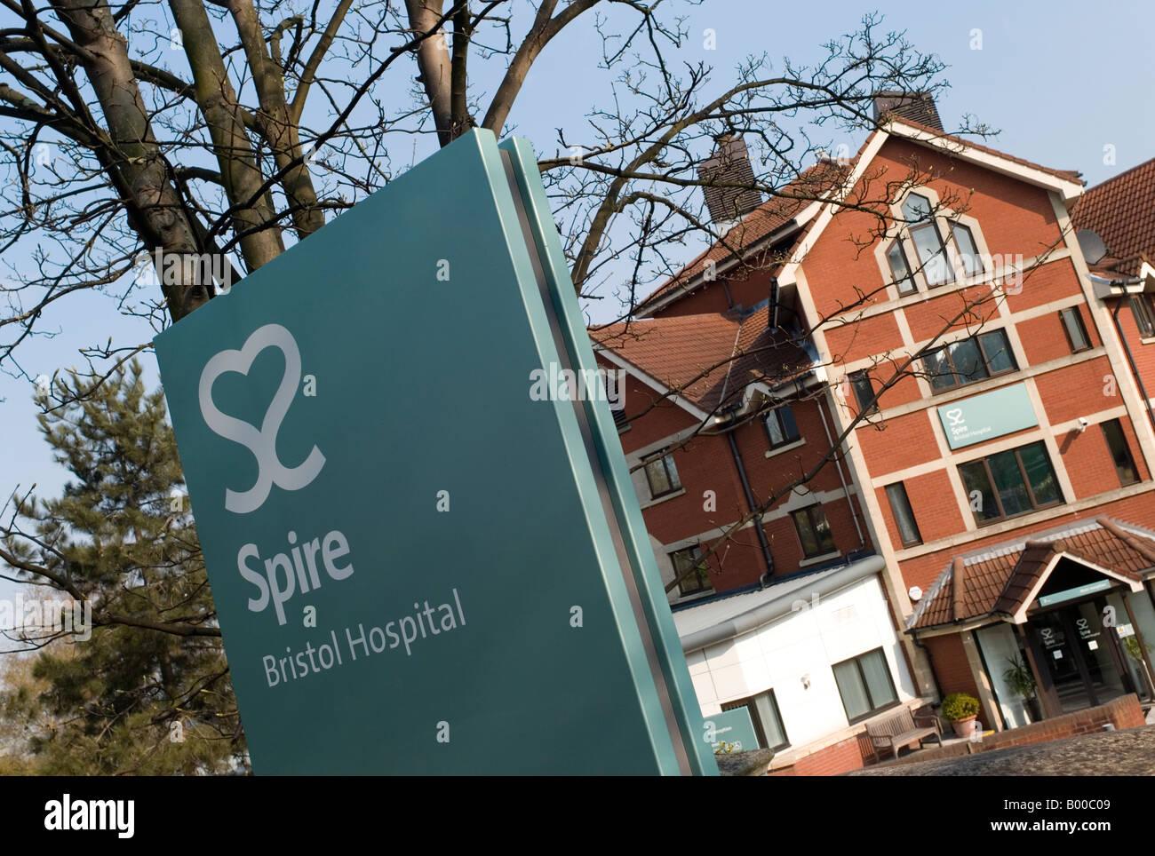 Spire Healthcare  Hospital - Stock Image