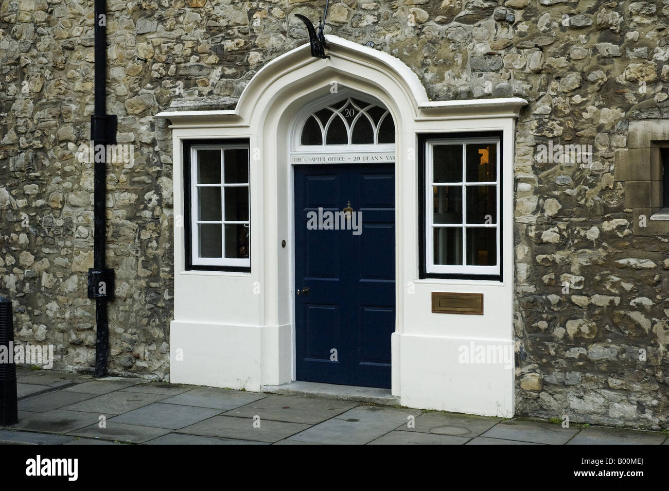 Chapter Office of Westminster Abbey Dean's Yard Westminster London Uk - Stock Image