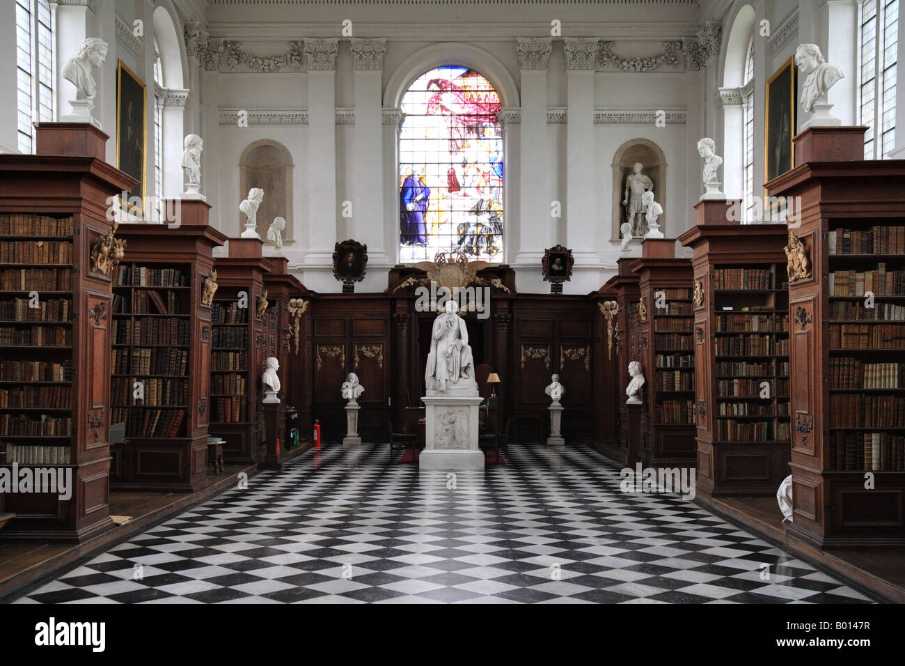 """Wren Library"" Trinity College, ""The University of Cambridge"" Stock Photo"
