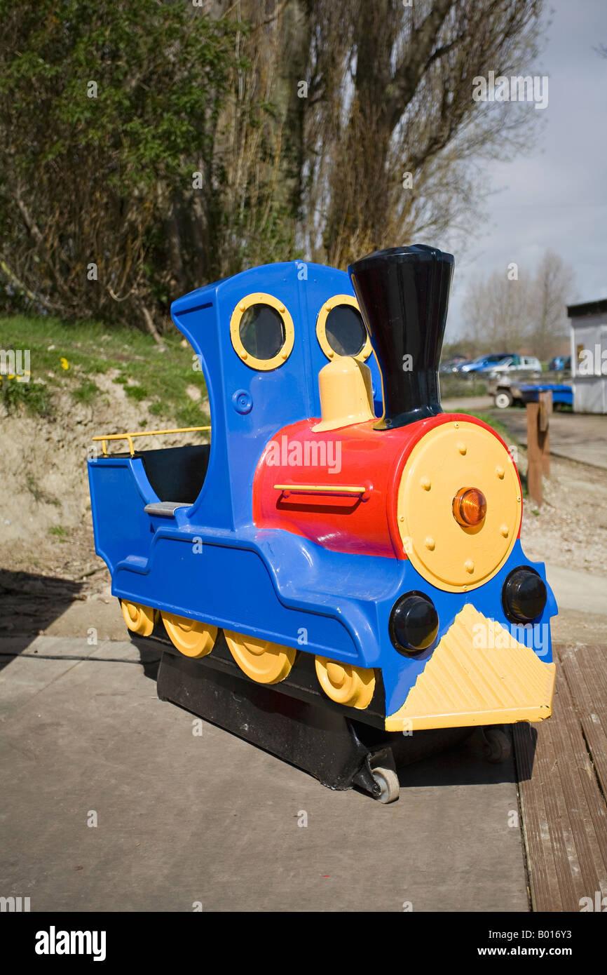 Miniature railway, Brooklands, Lancing, Sussex, UK Stock Photo