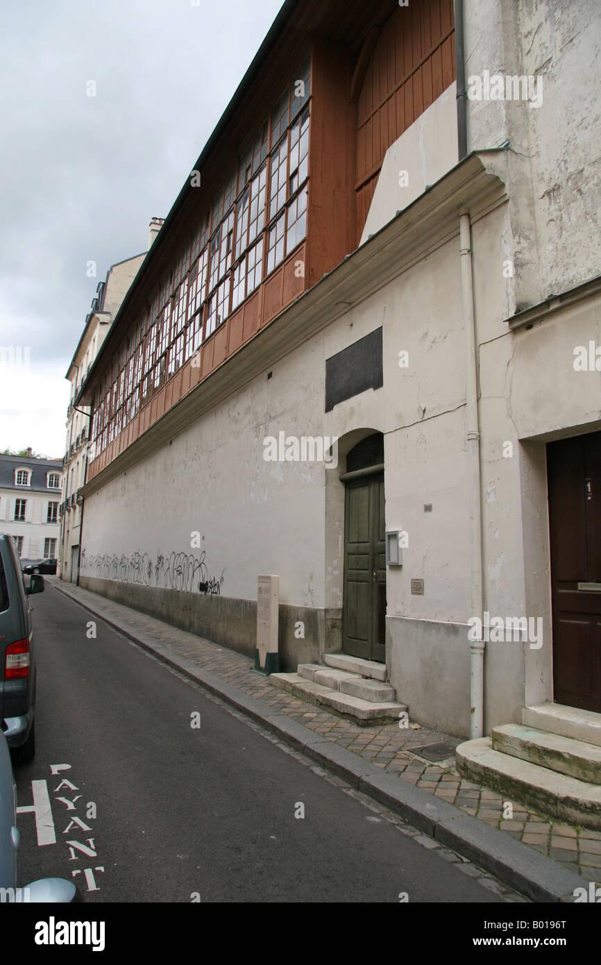 The Jeu De Paume Royal Tennis Court In Versailles France Where The